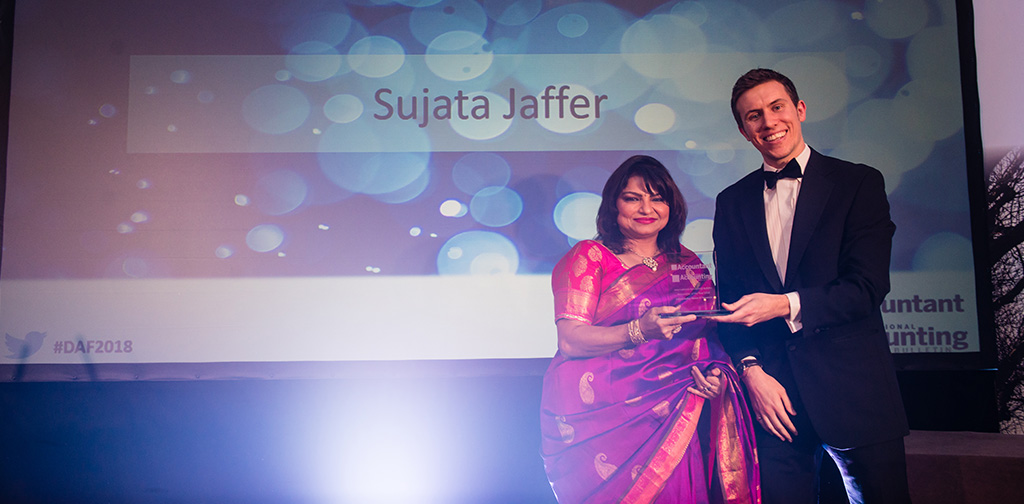 Sujata Jaffer has won 'Personality of the Year' (IAB) Awards 2018
