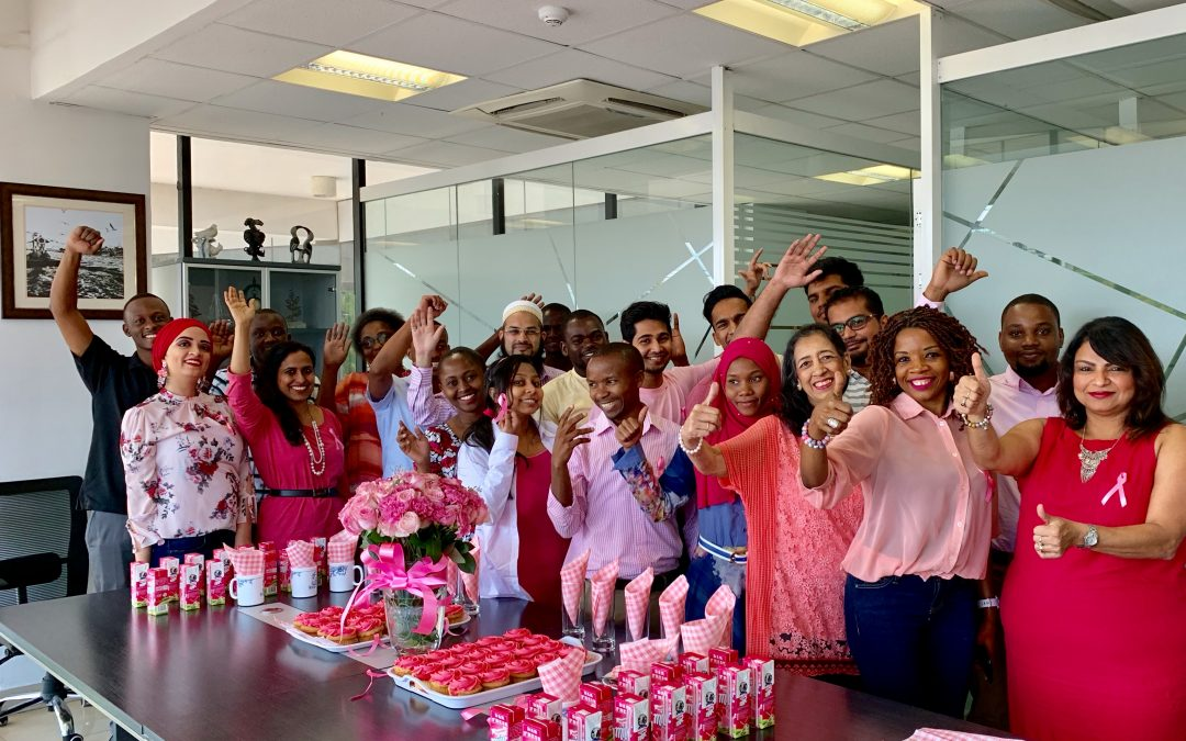 Nexia SJ Tanzania hosts a Pink Ribbon Breakfast