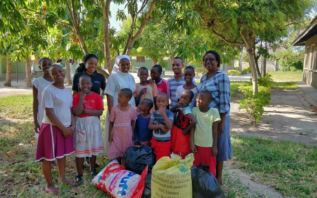 """Nexia SJ Tanzania donates at """"Village of Joy,"""" Mbweni"""